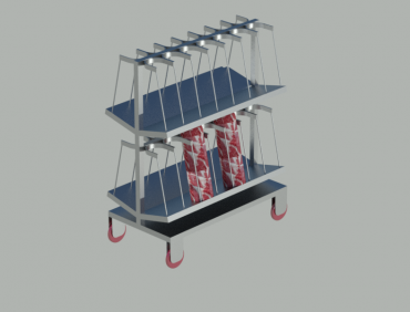 Rotary Shock Cart