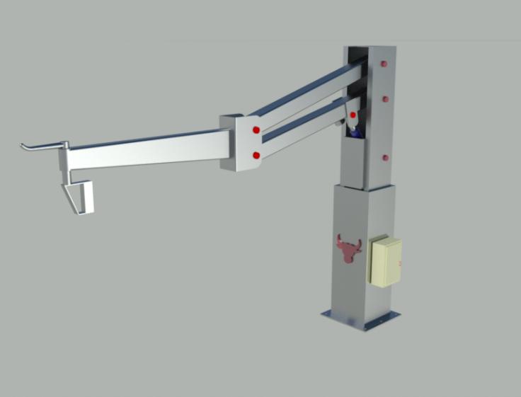 Et Yükleme Robotu