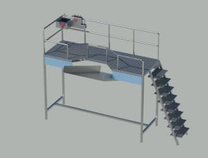 Sabit İşkembe Alma Platformu